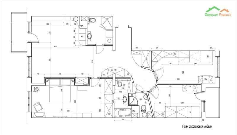 Схема дизайнерского ремонта